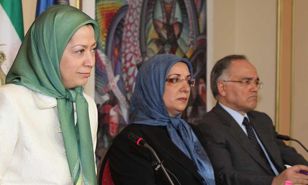 افتتاحیه اجلاس میاندورهیی شورای ملی مقاومت ایران