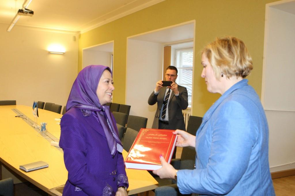 ملاقات با رئیس فراکسیون حزب اتحادیه میهنپرستان و جمهوریخواهان