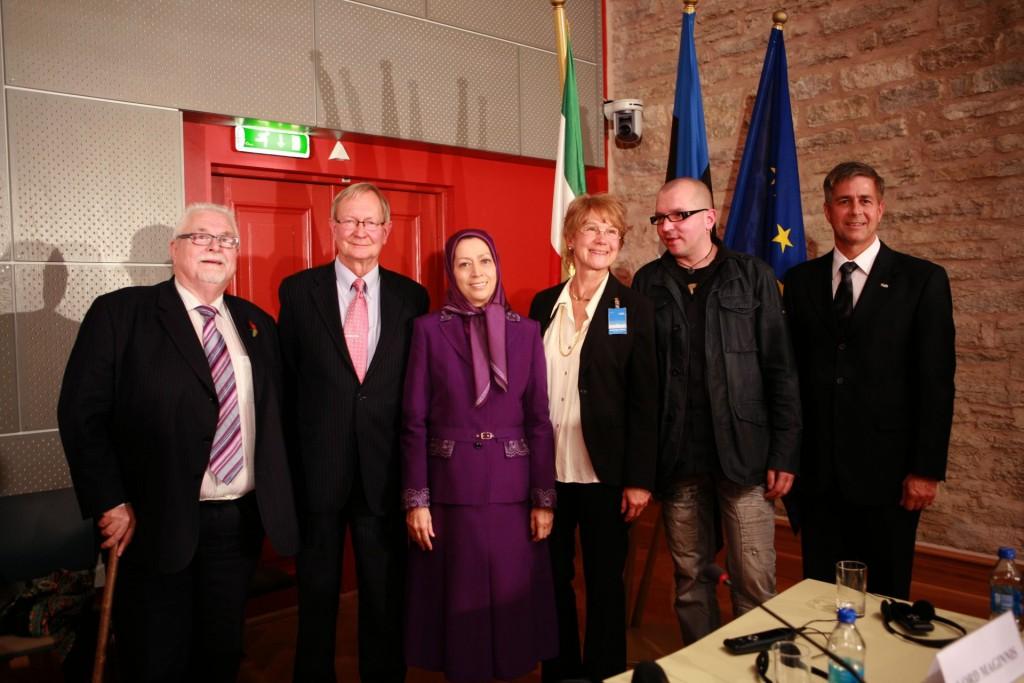 سخنرانی در کنفرانس همبستگی با مقاومت ایران در پارلمان جمهوری استونی