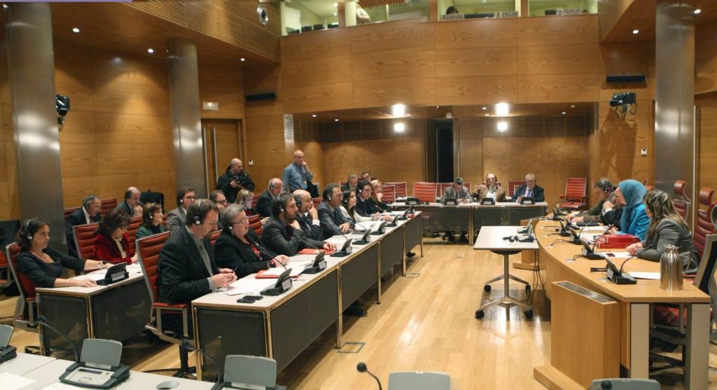 سخنرانی در اجلاس مشترک کمیتههای روابط خارجی، برابری و همکاریهای بینالمللی سنای اسپانیا
