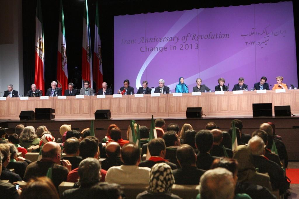 سخنرانی مریم رجوی در کنفرانس بینالمللی در پاریس