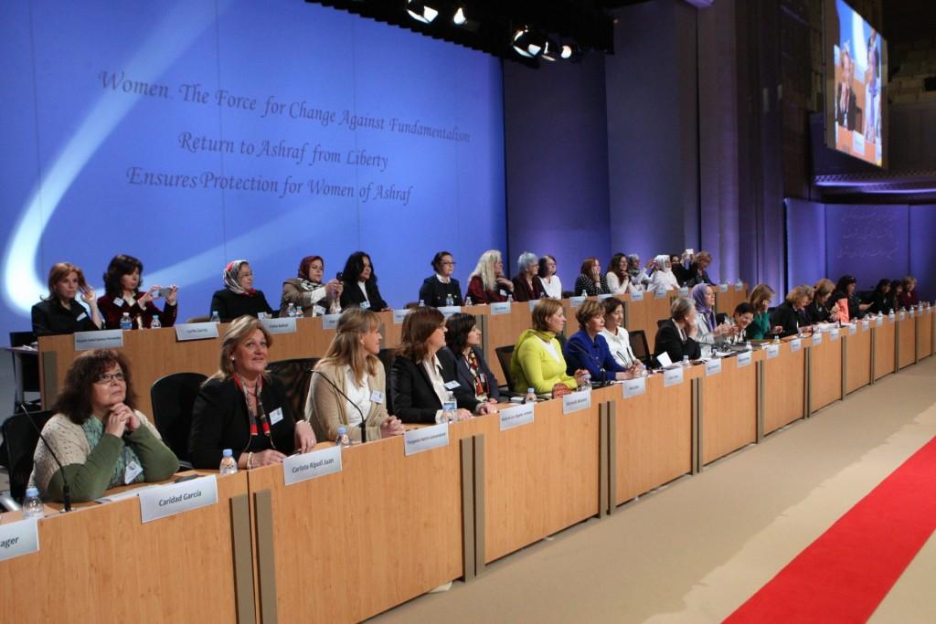 سخنرانی مریم رجوی در کنفرانس بینالمللی روز جهانی زن