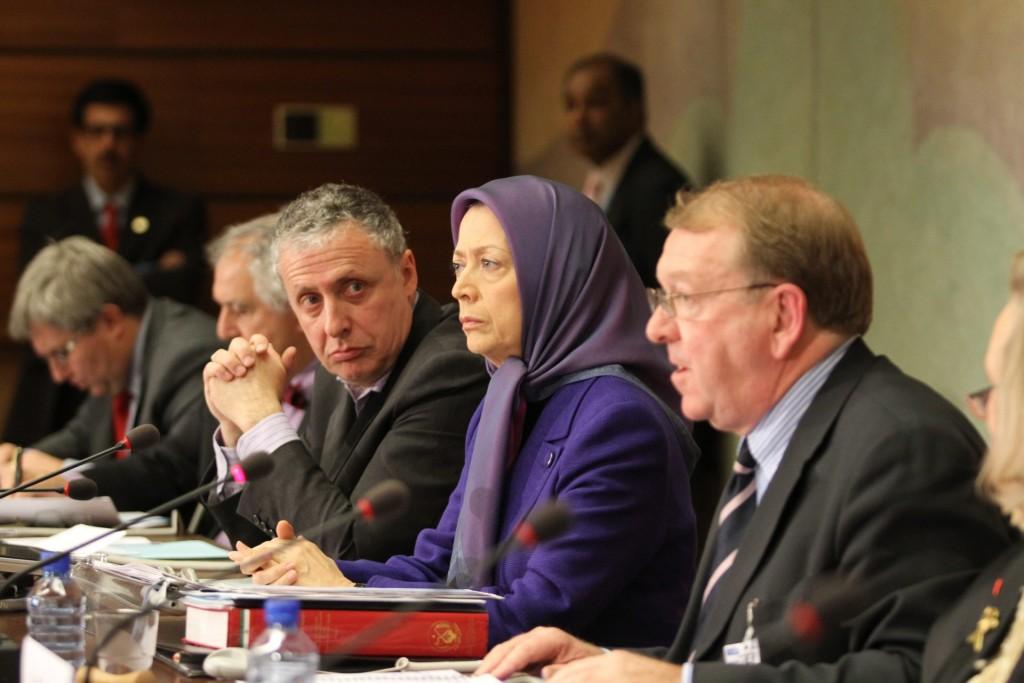 سخنرانی مریم رجوی در اجلاس سازمان ملل در ژنو