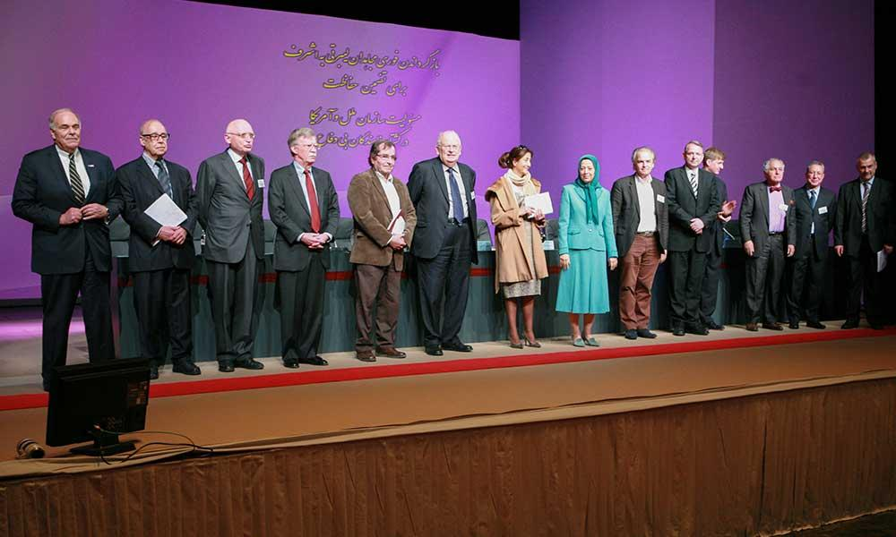 سخنرانی مریم رجوی در كنفرانس بین المللی ژنو
