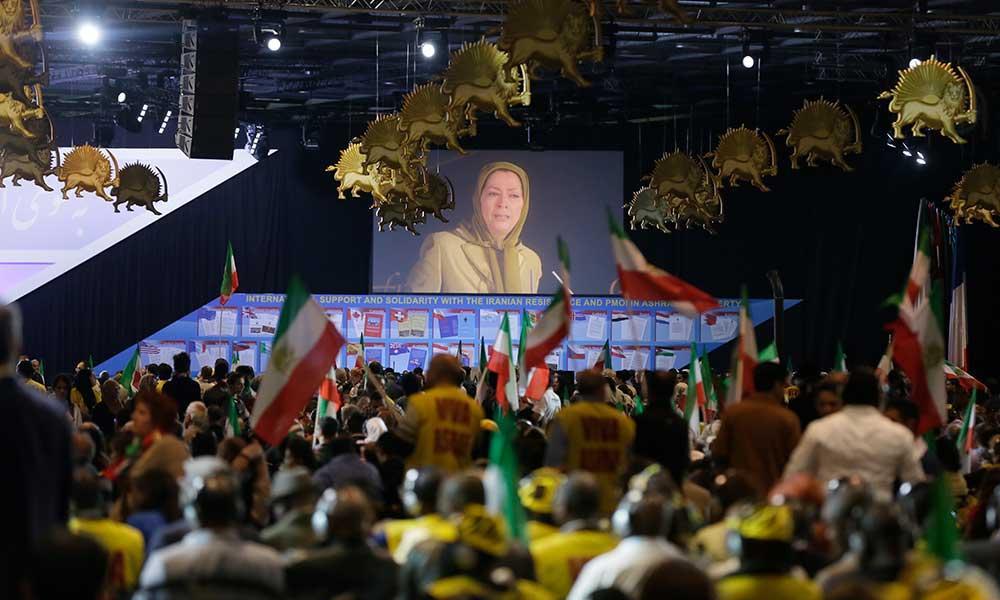 بسوی آزادی ـ سخنرانی مریم رجوی گردهمایی بزرگ مقاومت ایران