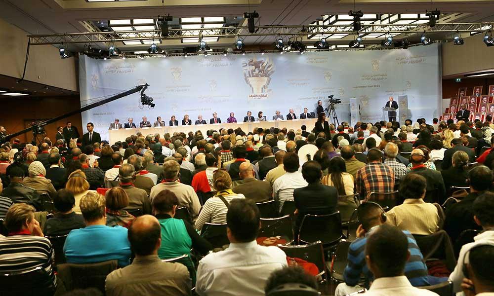 سخنرانی مریم رجوی در جلسه بزرگ و بینالمللی در ژنو