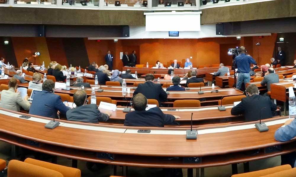 سخنرانی مریم رجوی در جلسه گروه پارلمانی حزب مردم