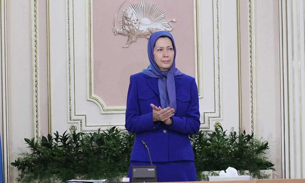سخنرانی مریم رجوی در اجلاس شورای ملی مقاومت ایران