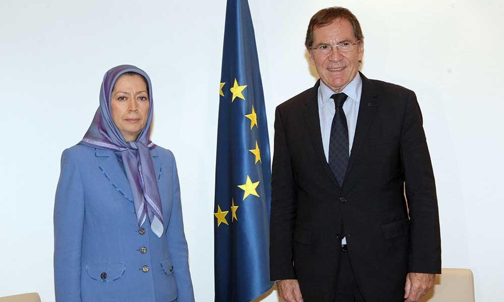 دیدار و گفتگو با ژان كلود مینیون، رئیس مجمع پارلمانی شورای اروپا