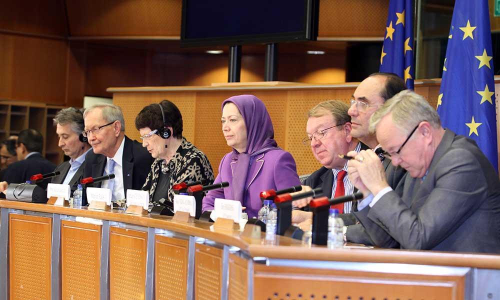 سخنرانی مریم رجوی در پارلمان اروپا