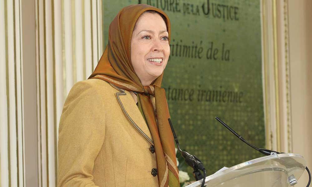 سخنان مریم رجوی در دیدار با حامیان فرانسوی در مقر شورای ملی مقاومت