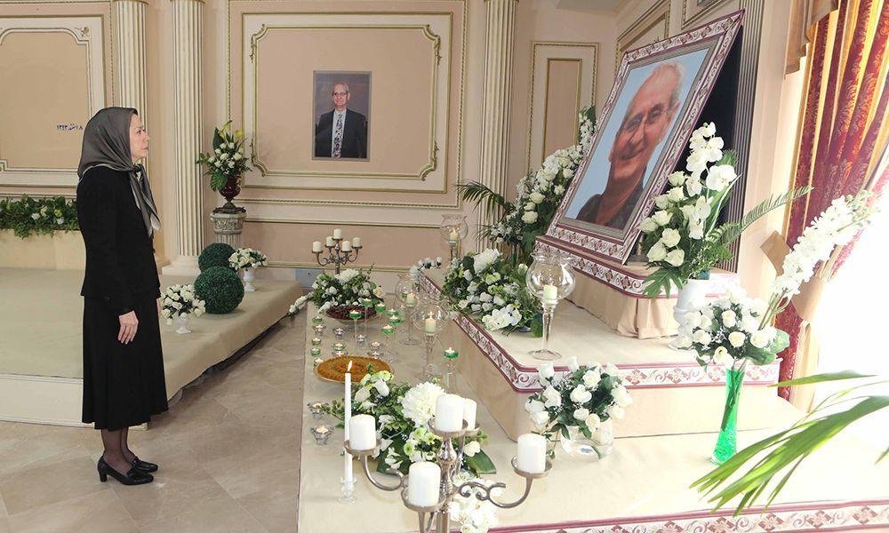 مریم رجوی در مراسم گرامیداشت هنرمند بزرگ آندرانیك آساطوریان: وجدان برانگیخته هنر و هنرمندان ایران