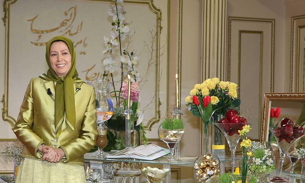 پیام مریم رجوی بهمناسبت نوروز ۱۳۹۴