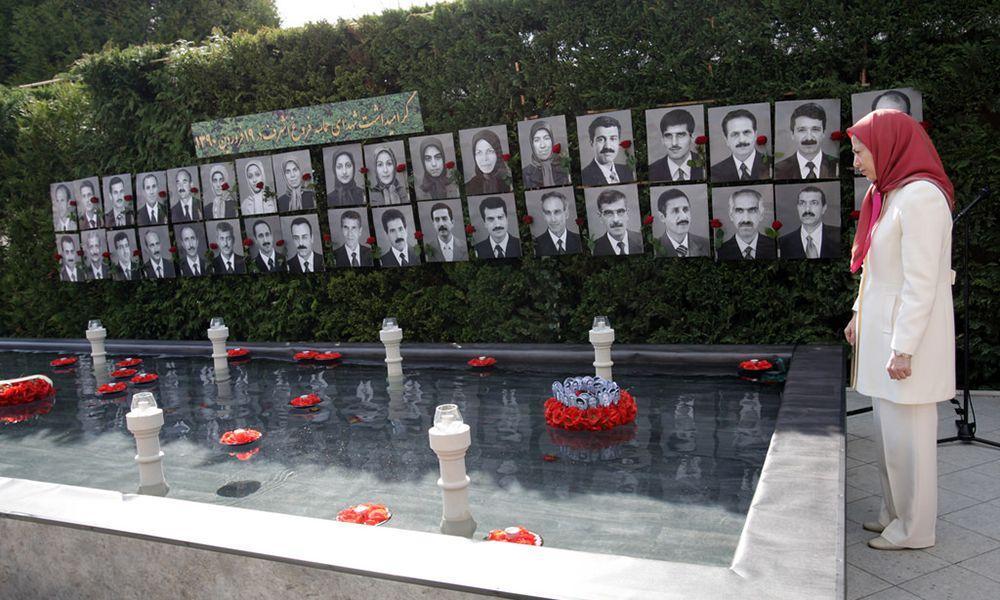 گردهمایی در بزرگداشت شهیدان حماسه فروغ اشرف در ۱۹فروردین ۱۳۹۰