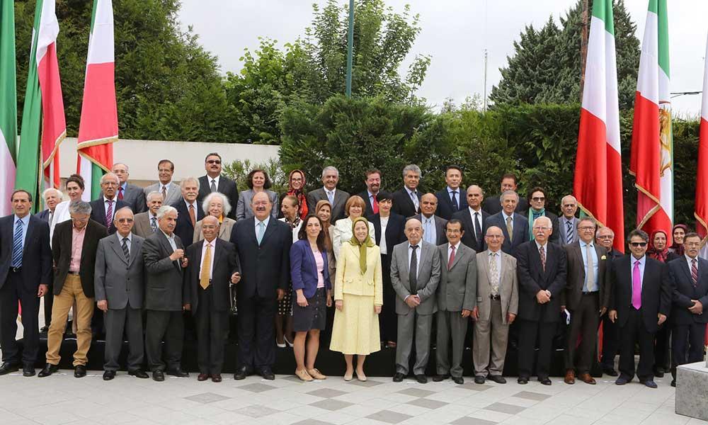 اجلاس میاندورهیی شورای ملی مقاومت ایران با حضور مریم رجوی