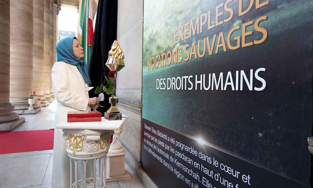 مریم رجوی: هرگونه مراوده با رژیم باید به توقف مجازات اعدام در ایران مشروط شود