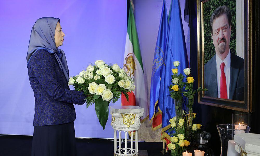 مریم رجوی: به ياد منصور قدرخواه، مبارز ميدان هنر و مقاومت و مدافع پرشور اشرفیها