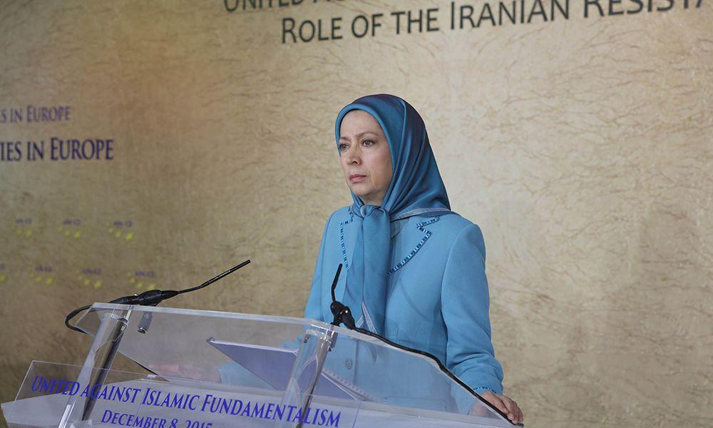 مریم رجوی: حقوق بشرو آزادی ربوده شده ایران را بايد با مبارزه بهدست آورد