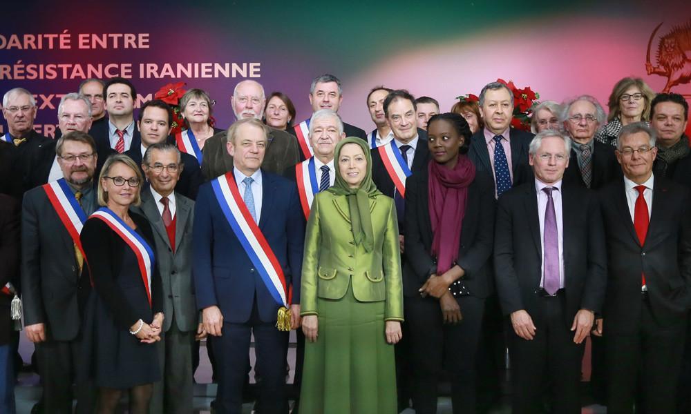 جلسه همبستگی منتخبین فرانسه با مقاومت ایران در برابر افراطی گری تحت نام اسلام