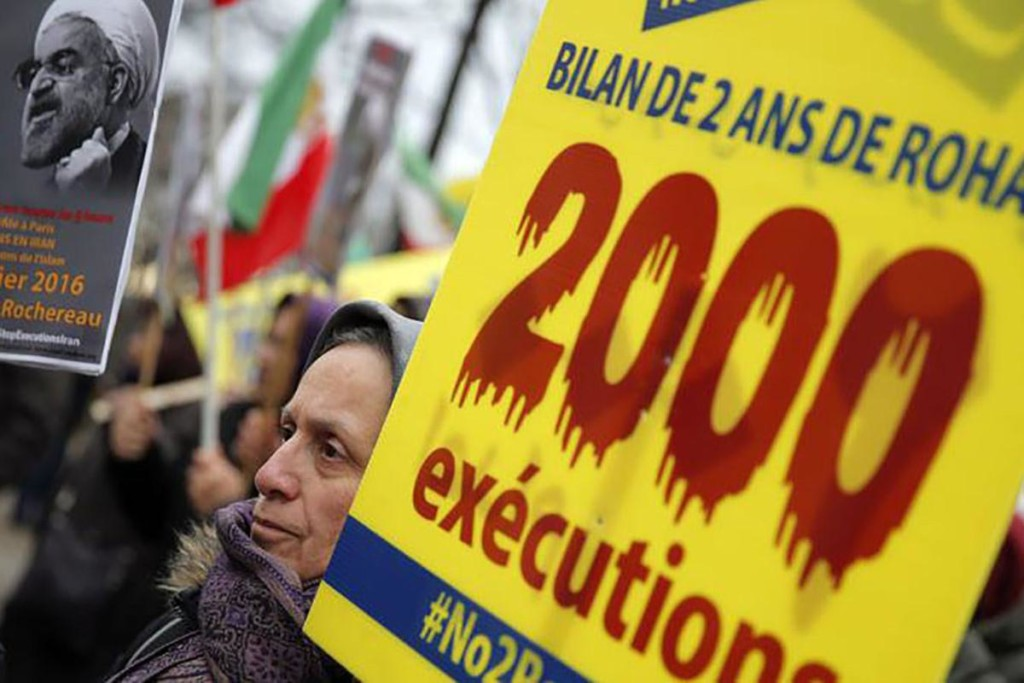 مقاله مریم رجوی در فیگارو به مناسبت بازدید حسن روحانی از پاریس: شهادت قوی یک مخالف ایرانی