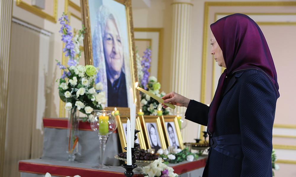 بزرگداشت مادر مجاهد عفت الشریعه شاه آبادی، مادر احمدی در اورسوراواز