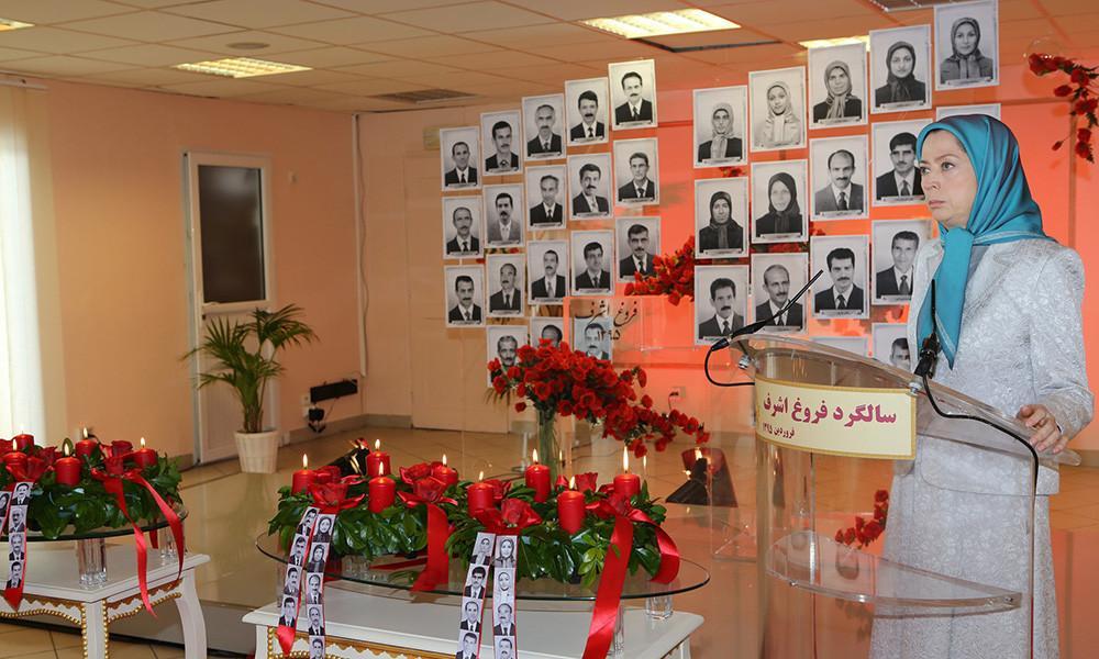 گرامیداشت حماسه ۱۹فروردین ۹۰ و پایداری مجاهدان اشرف در برابر جنایت علیه بشریت