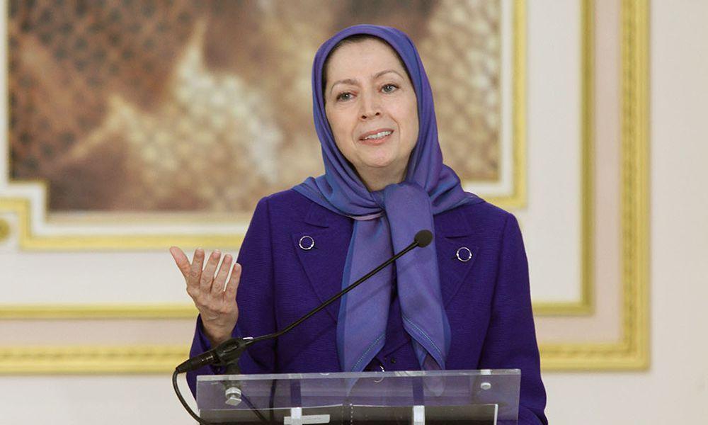 پیام تبریک مریم رجوی در نخستین افطار رمضان با مادران شهیدان و جمعی از اعضا و حامیان مقاومت