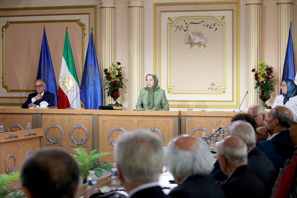 اجلاس میاندورهيی شورای ملی مقاومت ایران
