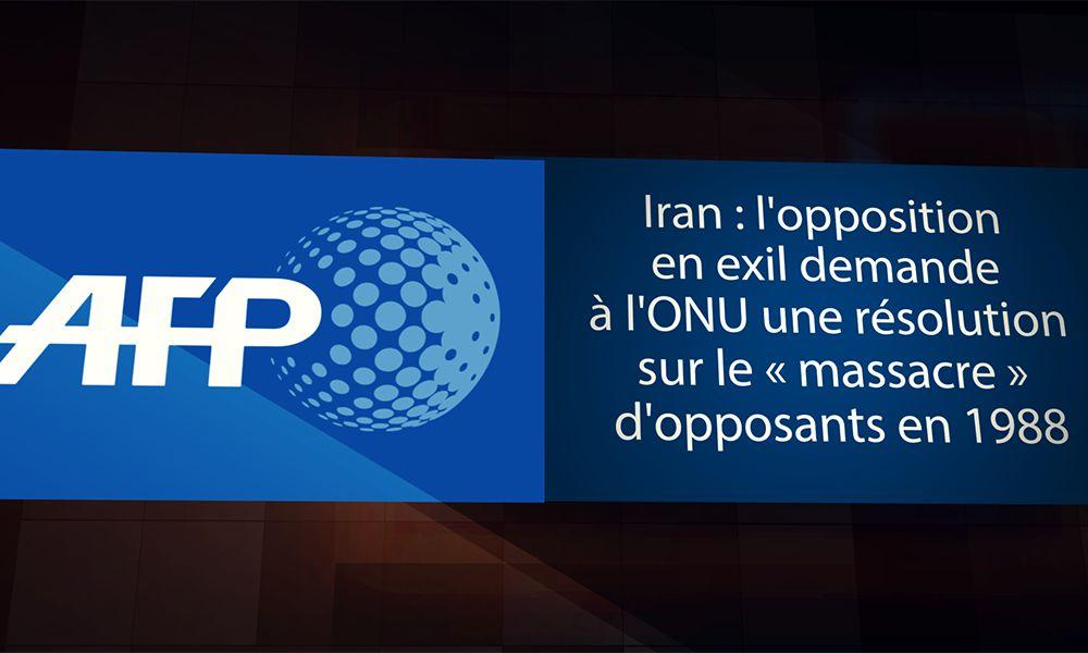 اپوزیسیون در تبعید، از سازمان مللمتحد خواستار یك قطعنامه در مورد «قتلعام» مخالفان در سال۱۳۶۷ میشود