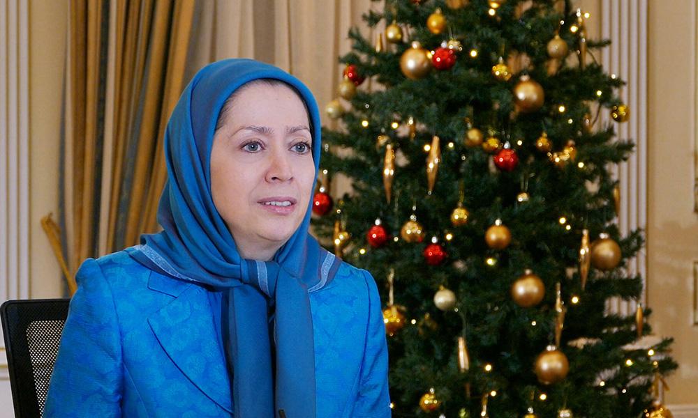 پیام مریم رجوی به اجلاس «دولت جدید و گزینه های سیاست ایران» در سنای آمریکا