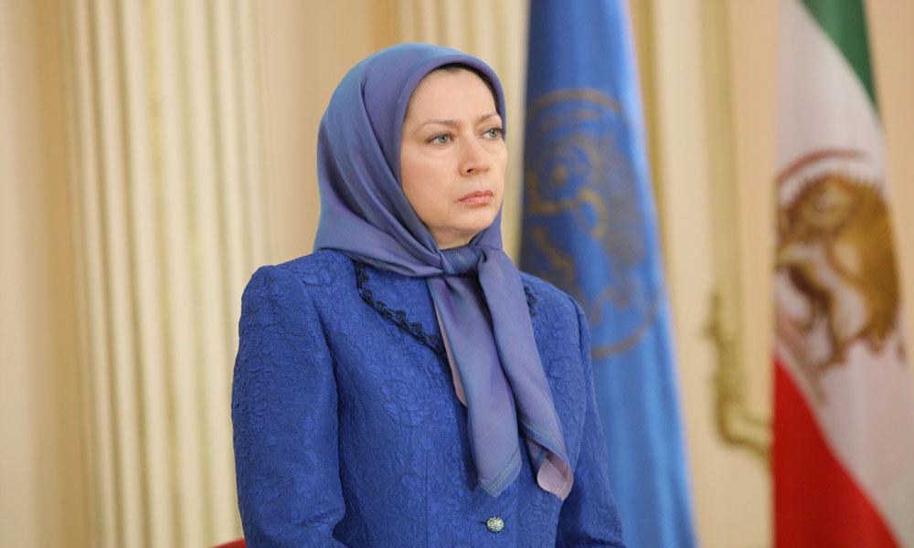 پیام تسلیت مریم رجوی بهخانوادههای قربانیان آتشسوزی ساختمان پلاسکوی تهران
