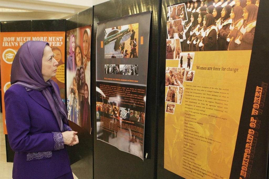 پیام مریم رجوی به جلسه «زنان نیروی تغییر» در استکهلم در آستانه روز جهانی زن