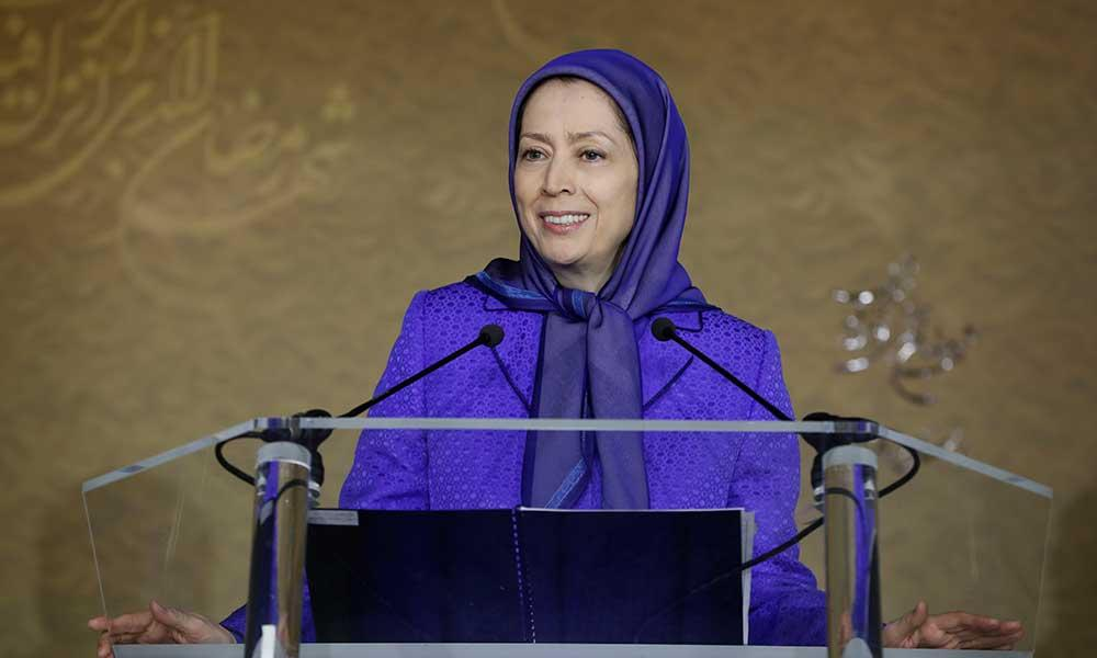 مریم رجوی در جلسه همبستگی ادیان علیه افراطیگری