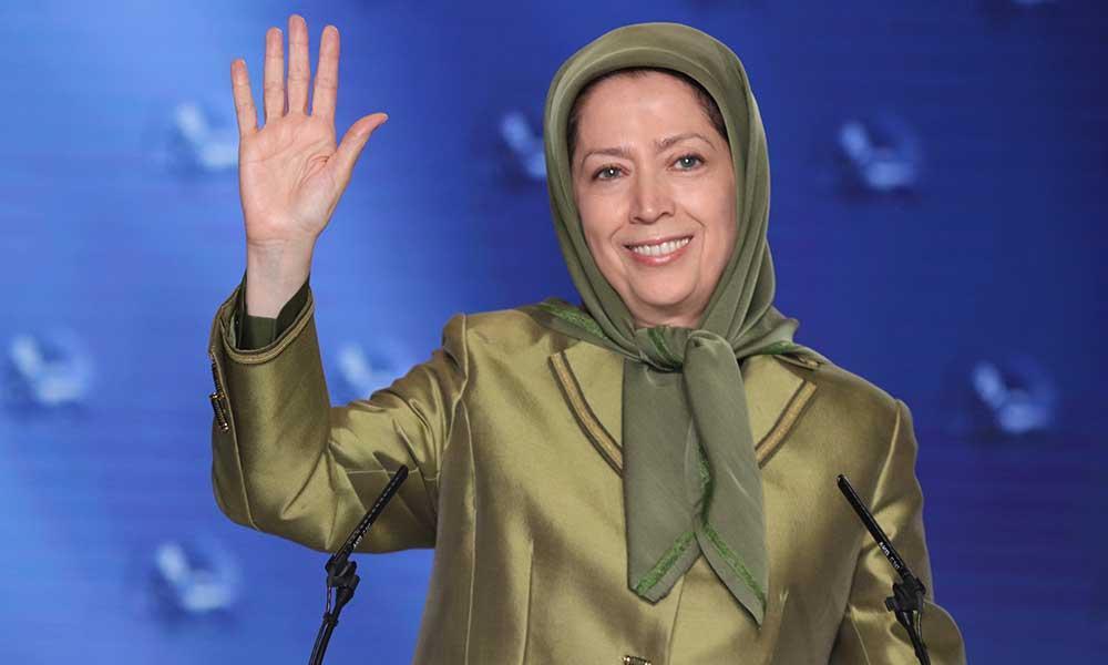 سخنرانی مریم رجوی در اجتماع بزرگ مجاهدین  در پنجاه و دومین سالگرد تاسیس سازمان مجاهدین و انتخاب مسئول اول جدید