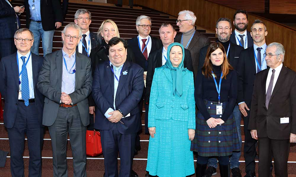 مریم رجوی در اجلاس رسمی گروه اتحاد لیبرالها و دمکراتها برای اروپا- آمدهام تا صدای معترضانی باشم که هم اکنون در زندان و تحت شکنجه قرار دارند