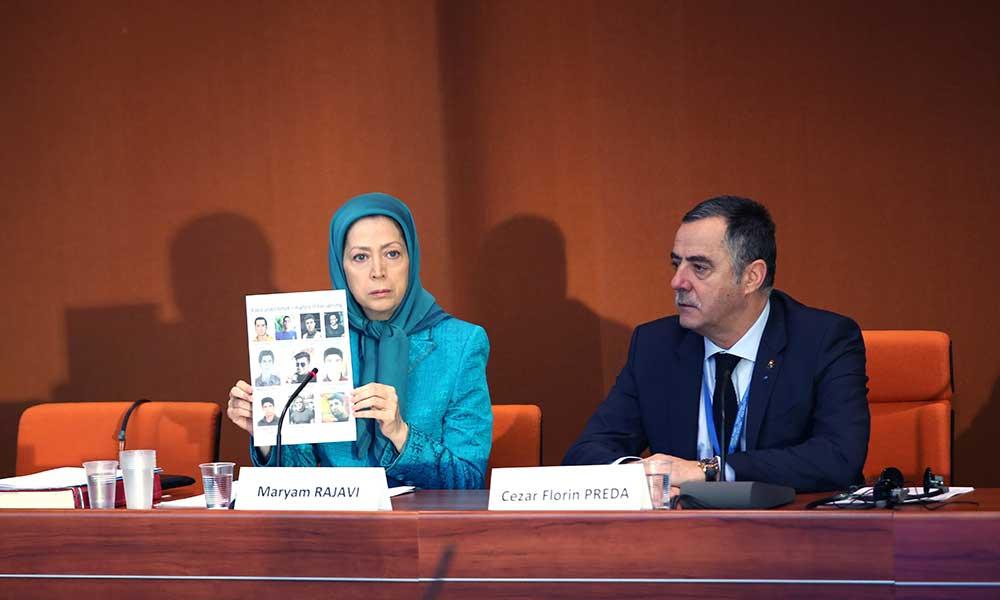 اروپا باید در کنار قیامکنندگان ایران باشد- سخنرانی مریم رجوی در اجلاس رسمی فراکسیون حزب مردم اروپا
