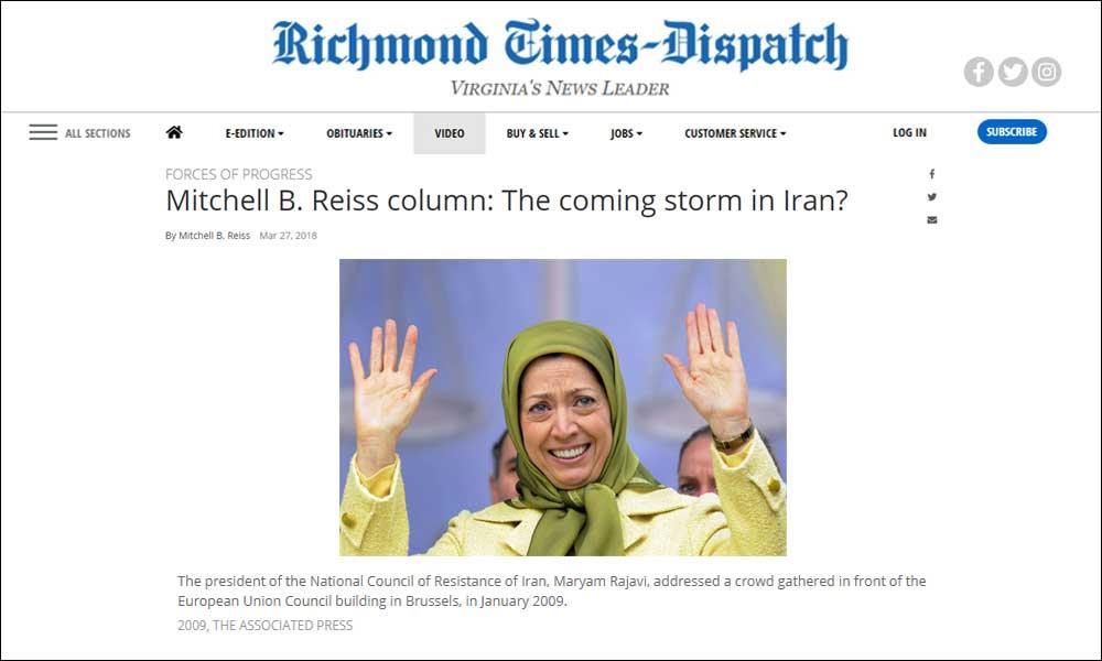 توفان آینده در ایران