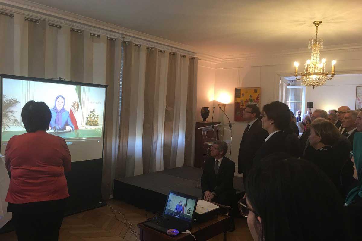 پیام مریم رجوی به جلسه نوروزی در مجلس ملی فرانسه