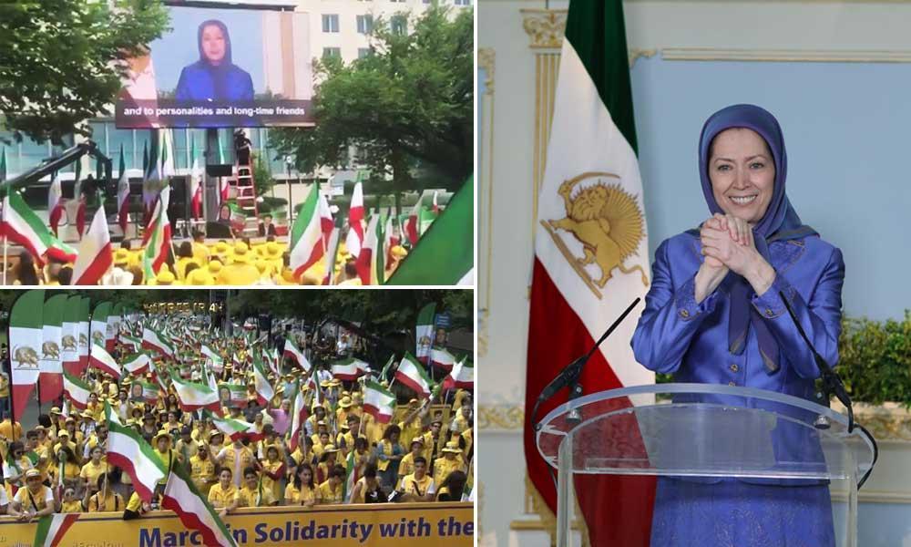 مریم رجوی: ملت ایران سرود و خروش شما برای آزادی را میشنود