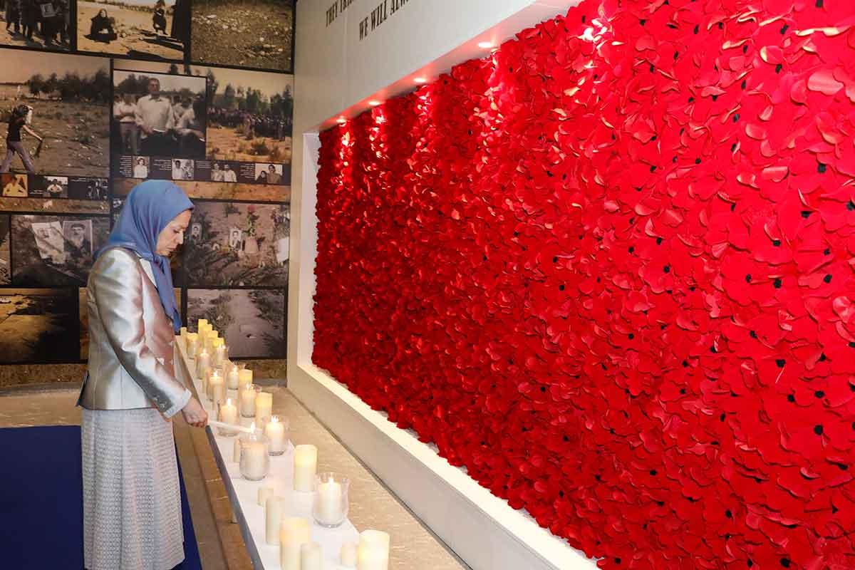 مریم رجوی: مردم و تاریخ ایران در جاده پیروزی محتوم حرکت میکنند