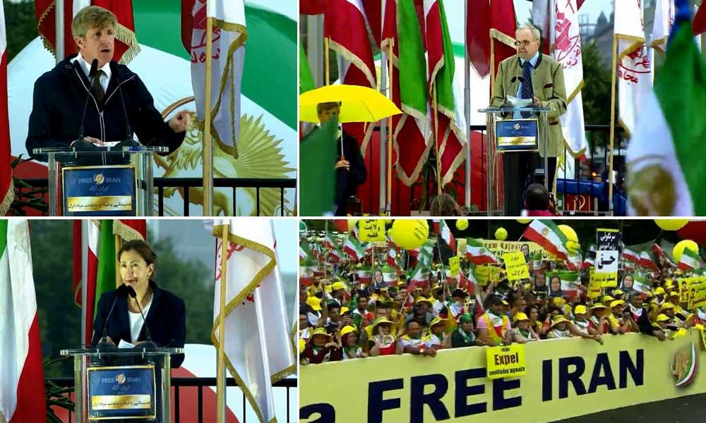 مریم رجوی: ضرورت محاکمه و مجازات و اخراج مزدوران اطلاعات و سپاه پاسداران