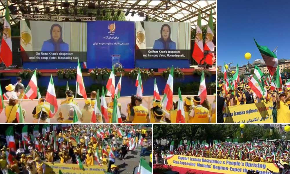 مریم رجوی: حق مردم ایران برای مقاومت به منظور سرنگونی رژیم آخوندی و استقرار حاکمیت جمهور مردم باید بهرسمیت شناخته شود
