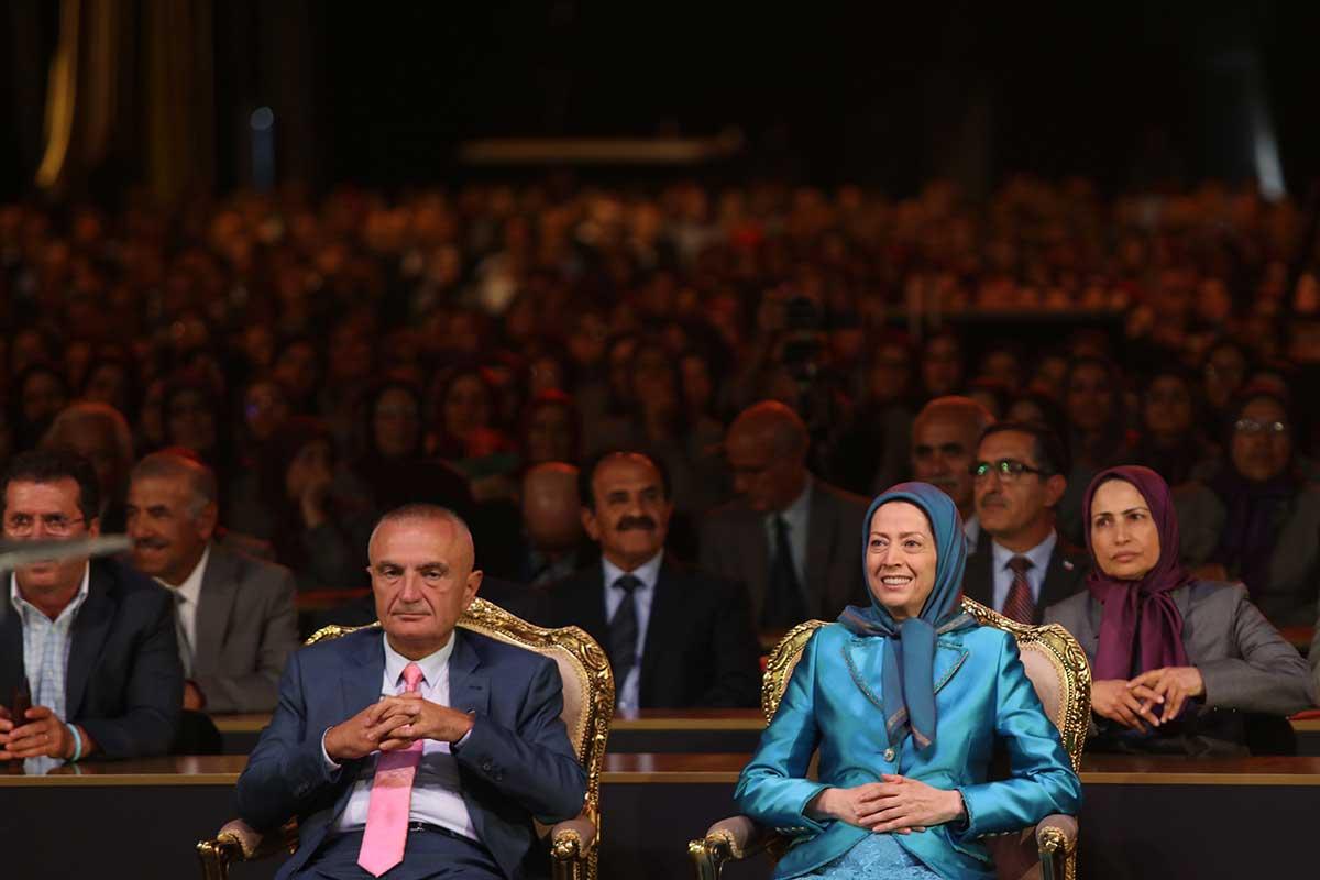 بازدید ایلیر متا رئیس جمهور آلبانی از اشرف۳ و ملاقات با مریم رجوی