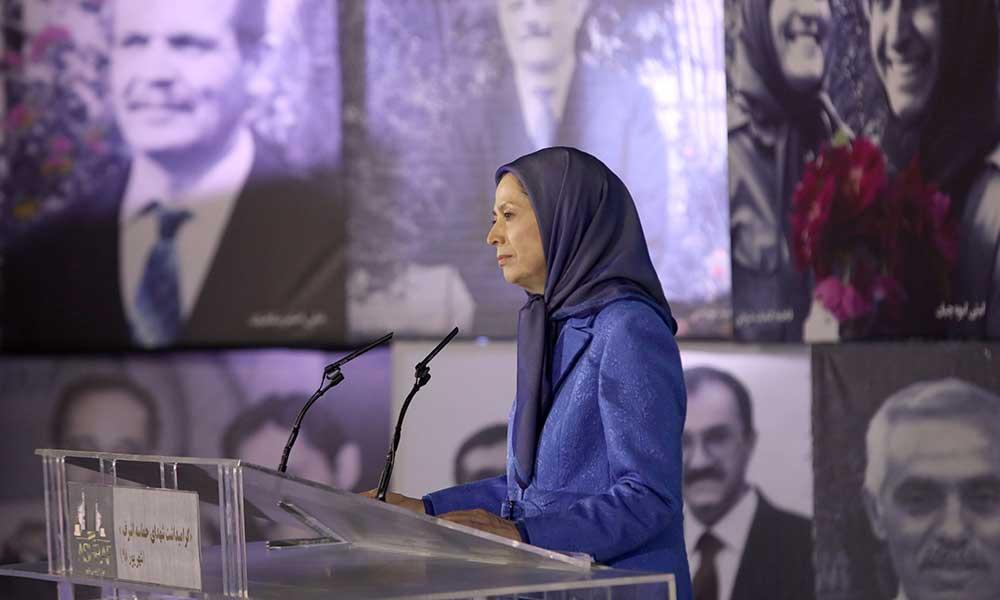 مریم رجوی: شهیدان حماسه اشرف، قهرمانانفراموشی ناپذیر تاریخ مقاومت برای آزادی