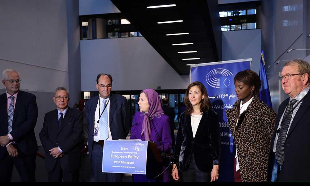 مریم رجوی: زمان آنست که جامعه جهانی به سه دهه مصونیت سران رژیم آخوندی خاتمه بدهد