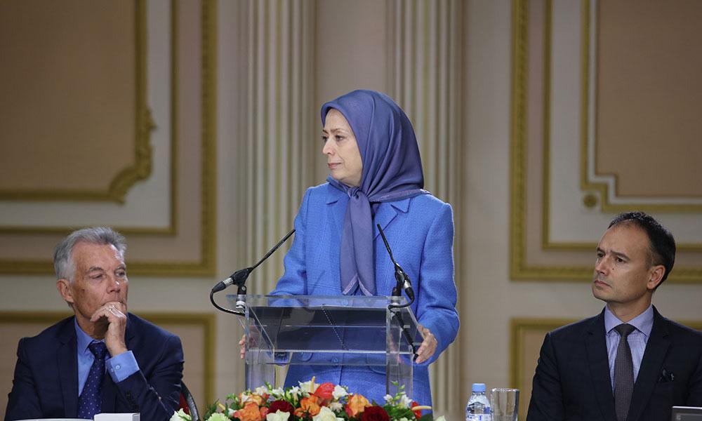 مریم رجوی: از ایران تا عراق و لبنان شاهد علائم نزدیک شدن پایان حکومت آخوندها هستیم