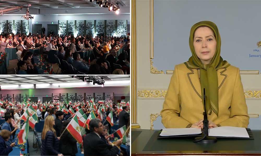 مریم رجوی: استراتژی صدور ارتجاع و تروریسم با قیامهای مردم منطقه و هلاکت سلیمانی درحال فروپاشی است