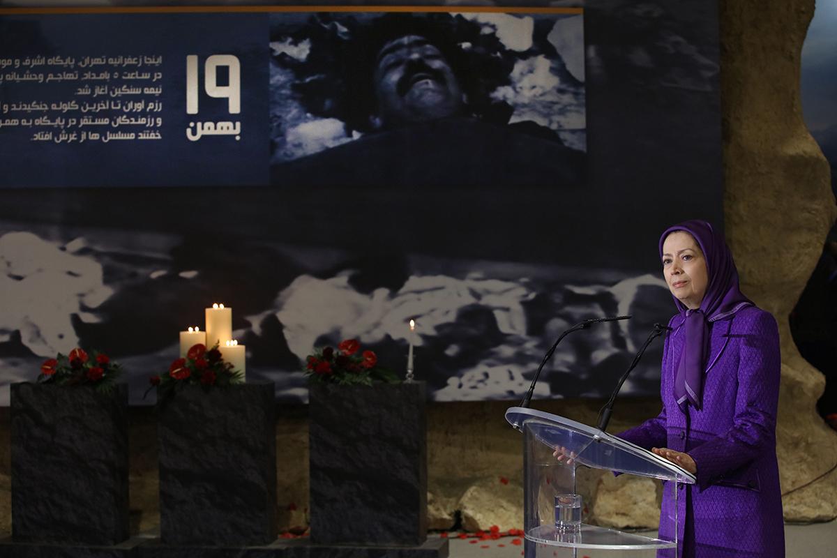 مریم رجوی: جوشش خون شهیدان در قیامهای مردم ایران با جلوداری کانونهای شورشی