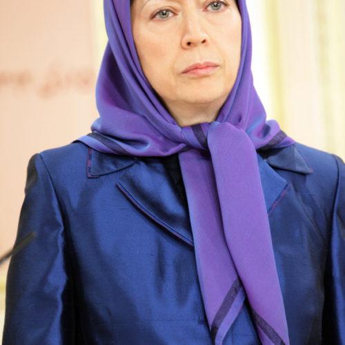 مريم رجوی، بزرگداشت شهيدان حمله موشكی به ليبرتی ۱۵-۱۰-۱۳۹۲