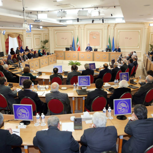 Two days session of National Council of resistance of Iran – Auvers-sur-Oise-France 15-16 January 2014-1